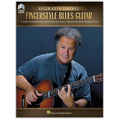 Hal Leonard Arlen Roth Teaches Fingerstyle Guitar Book/Online Video