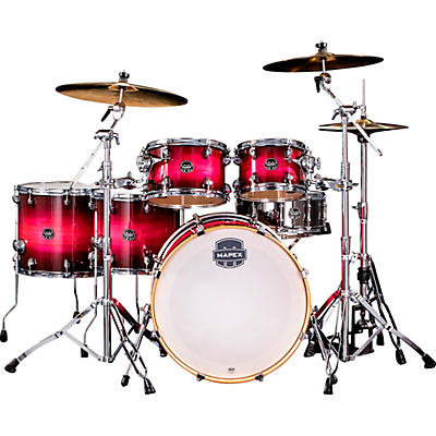 Mapex Armory Series 6-Piece Studioease Shell Pack Fast Toms with 22 in. Bass Drum
