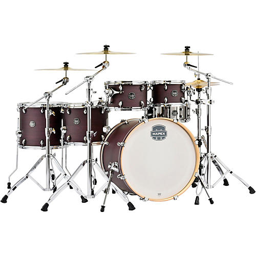 Mapex Armory Series Exotic Studioease Fast Shell Pack with 22 in. Bass Drum Purple Haze Satin
