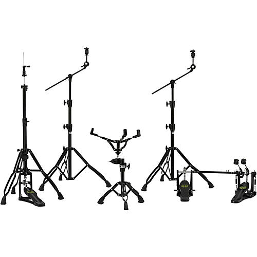 Mapex Armory Series HP8005-DP 5-Piece Hardware Pack with Double Pedal Black