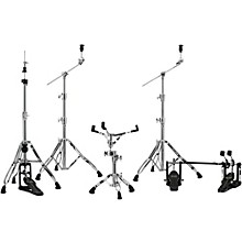 Armory Series HP8005-DP 5-Piece Hardware Pack with Double Pedal Chrome