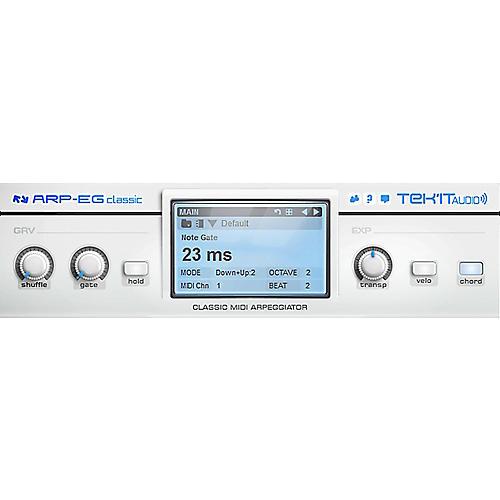 Tek'it Audio Arp-EG Classic Arpeggiator Plug-in Software Download