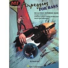 Hal Leonard Arpeggios for Bass Book
