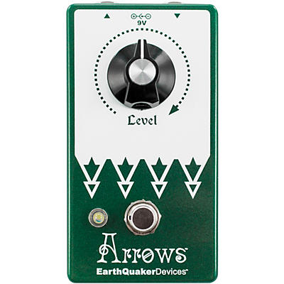 Earthquaker Devices Arrows V2 Preamp Booster Effects Pedal