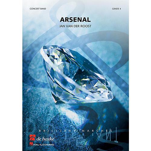 De Haske Music Arsenal Concert Band Level 4 Composed by Jan Van der Roost