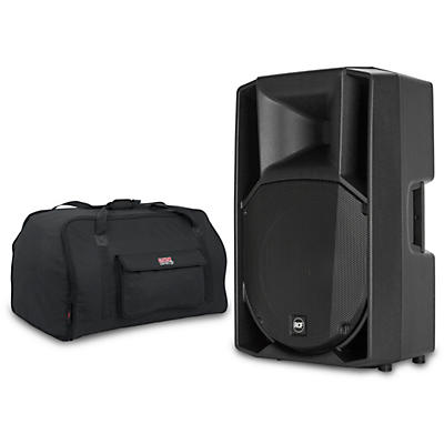 """RCF Art 715-A MK4 15"""" 1,400W Powered Speaker with Tote"""