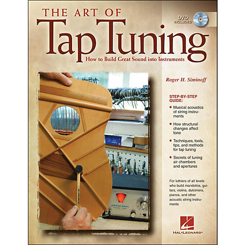 Hal Leonard Art Of Tap Tuning Book/DVD How To Build Great Sound Into Instruments