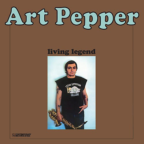 Alliance Art Pepper - Living Legend