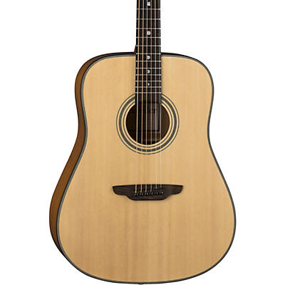 Luna Guitars Art Recorder Dreadnought Acoustic Guitar