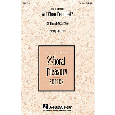 Hal Leonard Art Thou Troubled? UNIS arranged by John Leavitt
