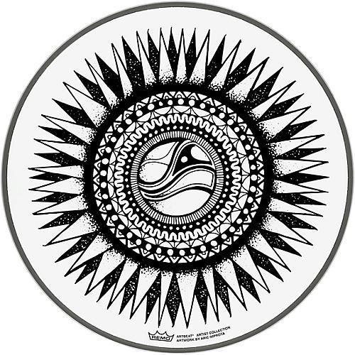 Remo ArtBEAT Aric Improta New Sun Artist Collection Drum Head, 10