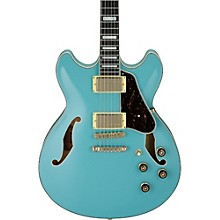 Artcore Series AS73G Semi-Hollow Body Electric Guitar Mint Blue