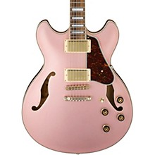 Artcore Series AS73G Semi-Hollow Body Electric Guitar Rose Gold Metallic Flat