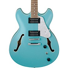 Artcore Vibrante AS63 Semi-Hollow Electric Guitar Mint Blue
