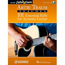 Homespun Artie Traum Teaches 101 Essential Riffs for Acoustic Guitar (Book/CD)