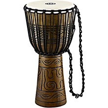 Open Box Meinl Artifact Series Hand Carved Djembe