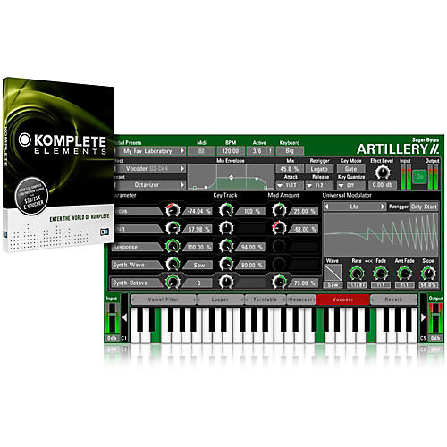 SUGAR BYTES Artillery II with Komplete Elements Bundle