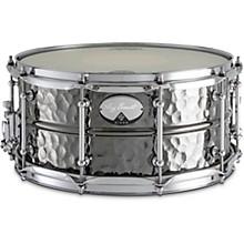Dixon Artisan Bissonette Signature Black Nickel Plated Hammered Brass Snare Drum
