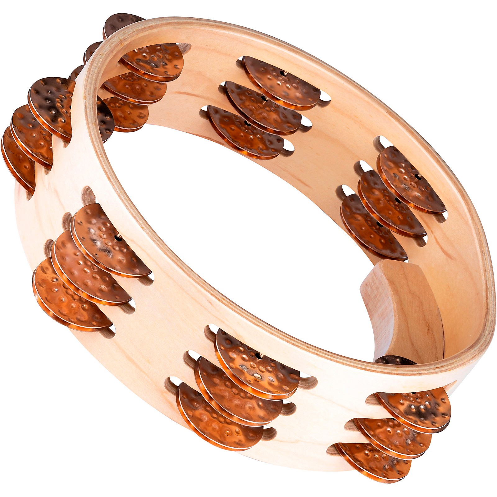 Meinl Artisan Compact Maple Wood Tambourine Three Rows