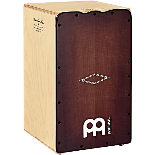 Meinl Artisan Edition Solea Line Cajon with Dark Red Burst Frontplate
