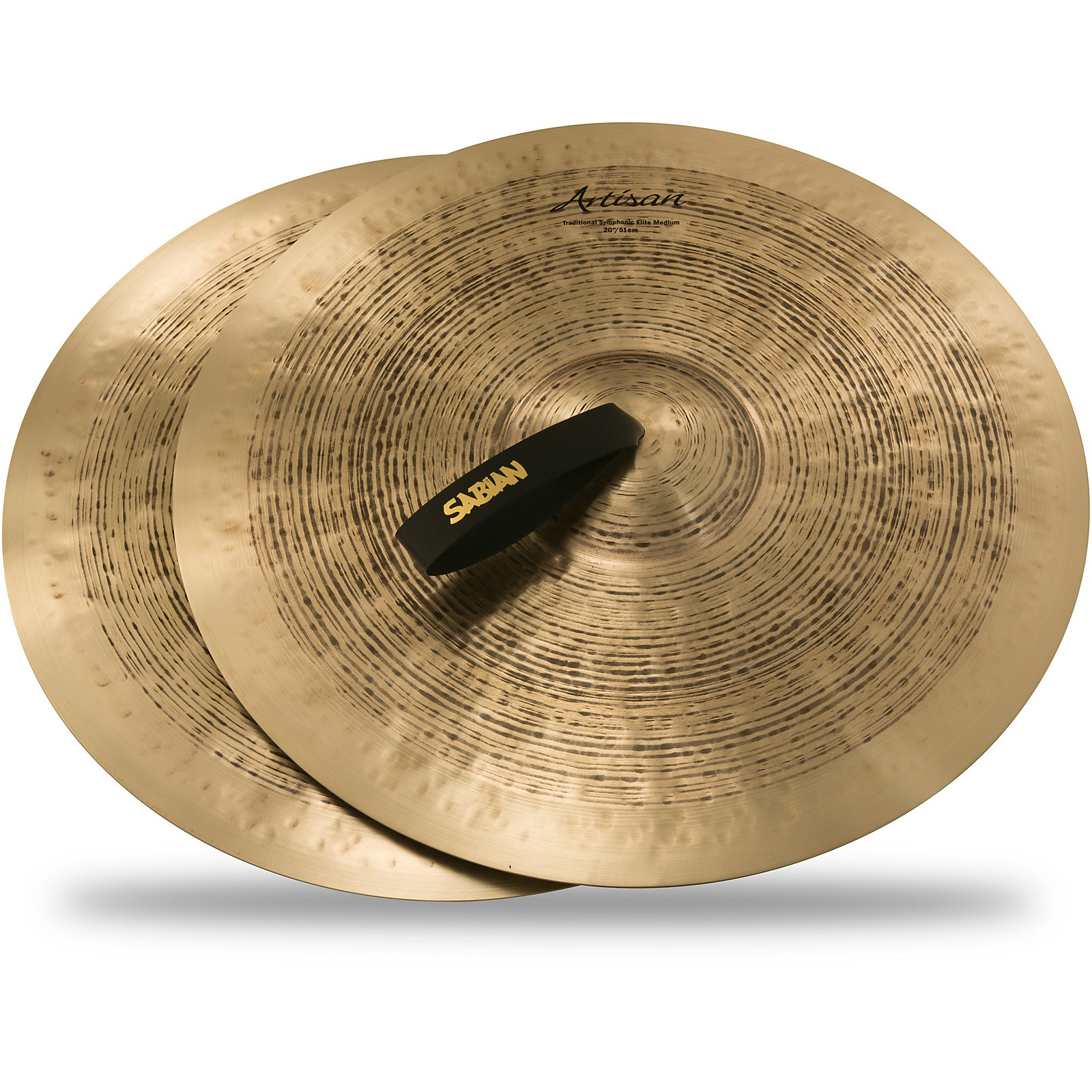 Sabian Artisan Traditional Symphonic Elite Medium orchestral pairs