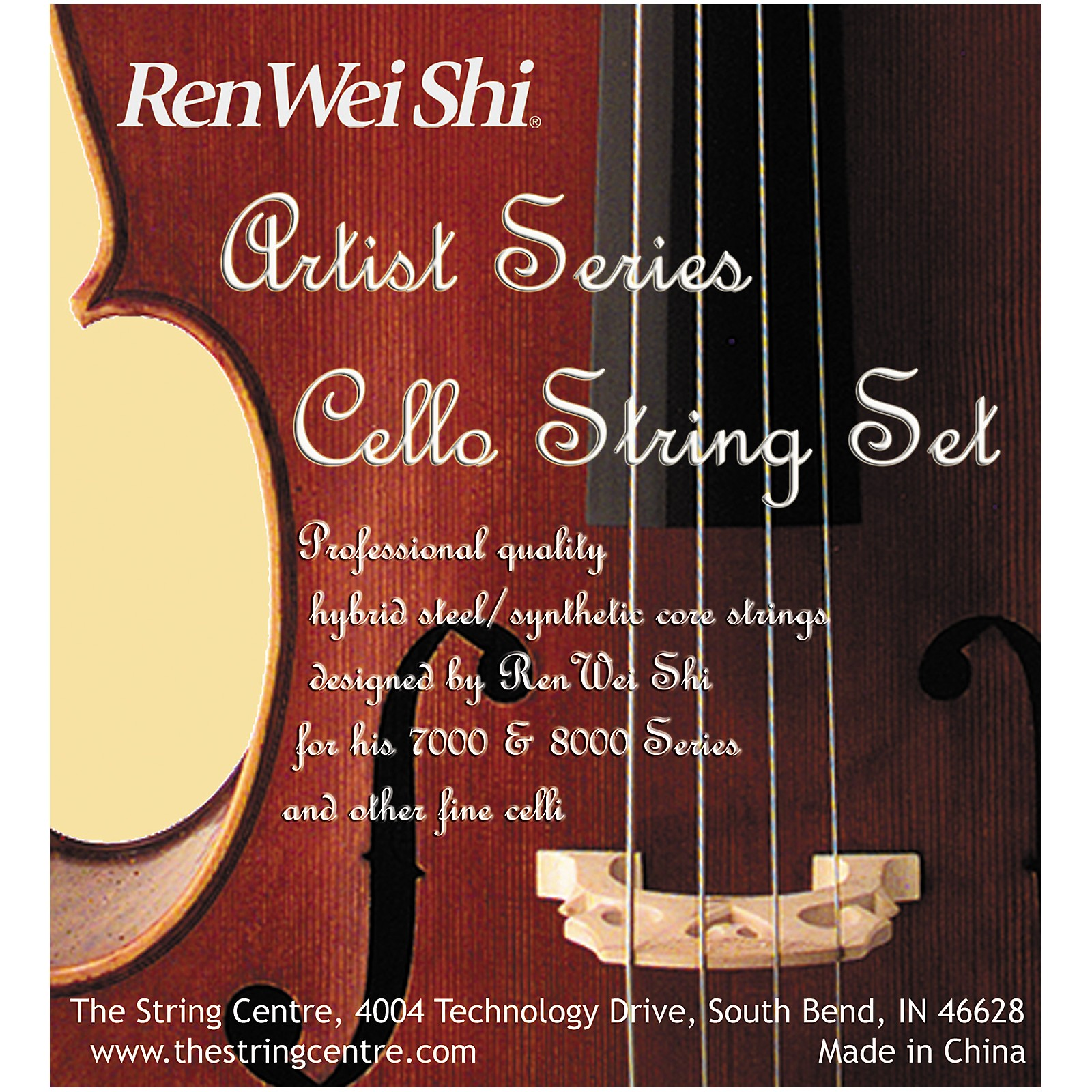Ren Wei Shi Artist Cello String Set