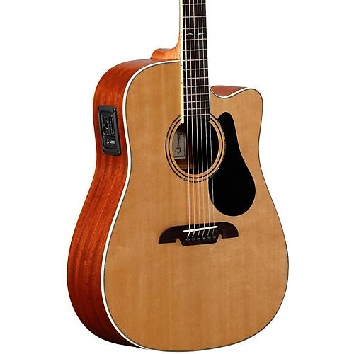 Alvarez Acoustic Electric Guitar : alvarez artist series ad60ce dreadnought acoustic electric guitar natural musician 39 s friend ~ Vivirlamusica.com Haus und Dekorationen