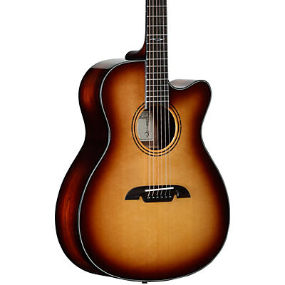 Alvarez Artist Series AF770CESHB OM Acoustic-Electric Guitar