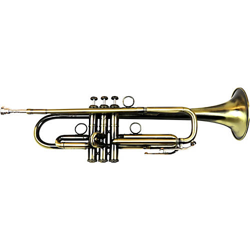 BAC Music Artist Series Hollywood Trumpet Patina Lacquer Yellow Brass Bell