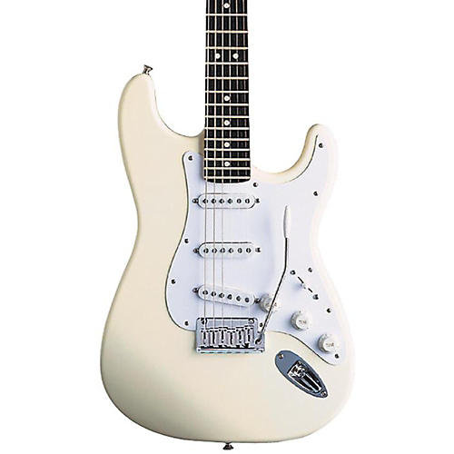 Fender Artist Series Jeff Beck Stratocaster Electric Guitar Olympic White