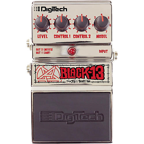 DigiTech Artist Series Scott Ian Black-13 Guitar Multi Effects Pedal