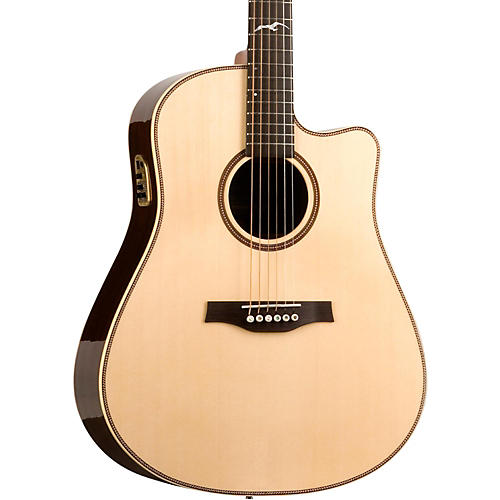 seagull artist studio qii cutaway acoustic electric guitar musician 39 s friend. Black Bedroom Furniture Sets. Home Design Ideas