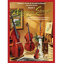 KJOS Artistry In Strings 2 Book/CD Cello Book