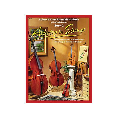 KJOS Artistry In Strings 2 Book/CD Violin Book