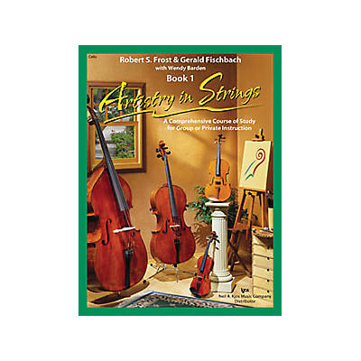 KJOS Artistry In Strings Book 1/CD Cello