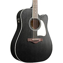 Open Box Ibanez Artwood AW360CEWK Solid Top Dreadnought Acoustic-Electric Guitar