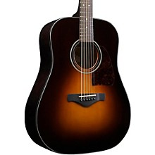 Open Box Ibanez Artwood AW4000-BS Dreadnought Acoustic Guitar