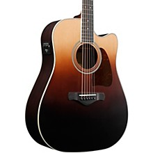 Ibanez Artwood AW80CE Solid Top Dreadnought Acoustic Electric Guitar