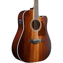 Ibanez Artwood AW84CE Solid Top Dreadnought Acoustic-Electric Guitar
