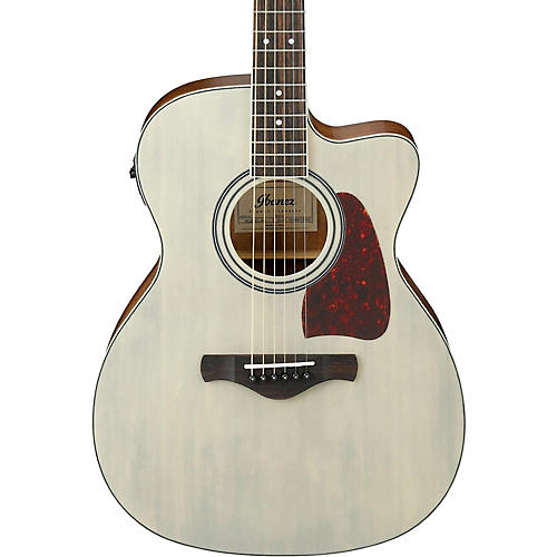 Ibanez Artwood Series AC320CEABL Solid Top Grand Concert Acoustic-Electric Guitar