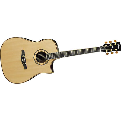 ibanez artwood series aws1000ecent dreadnought cutaway acoustic electric guitar musician 39 s friend. Black Bedroom Furniture Sets. Home Design Ideas