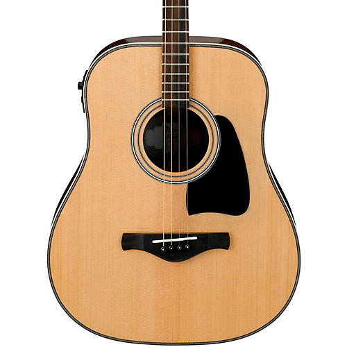 Ibanez Artwood Vintage AVT2E-NT Mini Dreadnought Acoustic-Electric Guitar