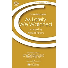 Boosey and Hawkes As Lately We Watched (CME Holiday Lights) TTB arranged by Wayland Rogers