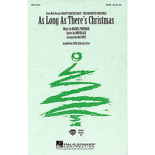 Hal Leonard As Long As There's Christmas ShowTrax CD Arranged by Mac Huff