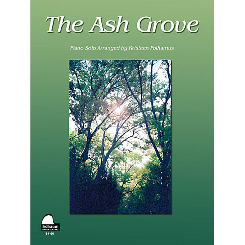 SCHAUM Ash Grove Educational Piano Series Softcover