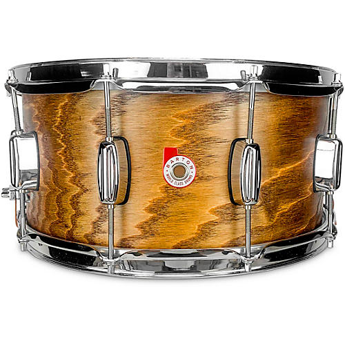 Barton Drums Ash Snare Drum 14 x 6.5 in. Clear Satin