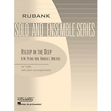 Rubank Publications Asleep in the Deep Rubank Solo/Ensemble Sheet Series Softcover