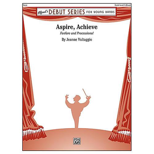 Alfred Aspire, Achieve Concert Band Grade 1 Set
