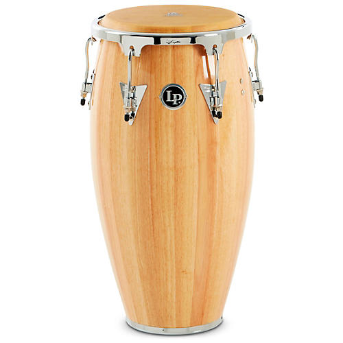 LP Aspire Wood Conga Chrome Hardware Condition 1 - Mint Natural 12 Inch