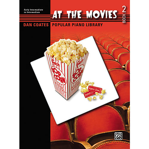 Alfred At the Movies Book 2 Early Intermediate/Intermediate Piano